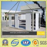 Дом контейнера стальной рамки Prefab