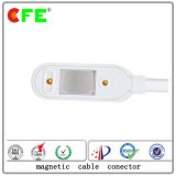 cabo distribuidor de corrente 2pin magnético Connetcor para produtos do agregado familiar