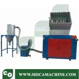 Überschüssige Plastik-pp. PET Beutel-Zerkleinerungsmaschine mit Staub-Sammler