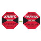 Model L 47 Gevoeligste Etiketten Shockwatch voor Pakket