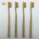 Schwarze Borste-Bambus-Zahnbürste anpassen