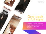 Jungfrau-Menschenhaar bessert unverarbeitete brasilianische Jungfrau-gerades Haar aus