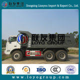 Sinotruk HOWOダンプトラック鉱山王を採鉱する70トン