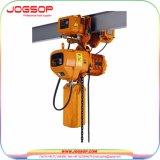 전기 체인 호이스트 건축재료 생명 이용된 5 톤 소형 전기 체인 호이스트