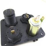 Alumbrador marina del cigarrillo del panel del interruptor eléctrico