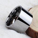 Hete Verkoop 13.7mm de Eenvoudige Ringen van het Wolfram van de Juwelen van de Manier van de Stijl In het groot