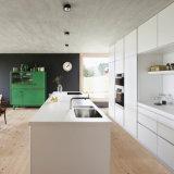 Modules de cuisine à haute brillance en bois de laque de type moderne