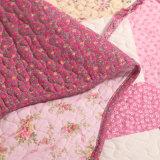 Настраиваемые Prewashed прочного удобные кровати стеганая 3-х покрывалами красного цвета Coverlet Головоломки