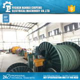 Equipamento empacotado aéreo da fabricação de cabos do fio