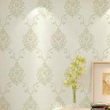 Papel de empapelar del PVC, PVC Wallcovering, decoración de la pared, rodillo del suelo, tela de la pared del PVC, papel pintado del PVC
