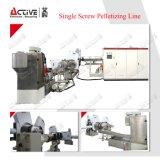 Ligne de pelletisation de vis de pp de rebut en plastique de PE machine/de machine/de granulation simples de pelletisation