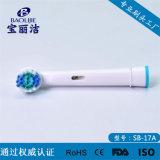 Têtes compatibles de rechange de brosse à dents électrique de précision neutre pour B/Braun oral Flexisoft