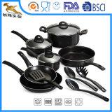 O Cookware Nonstick de Aluminun ajusta os utensílios da cozinha (CX-AS1303)