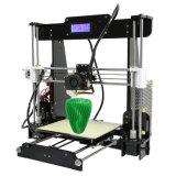 Anet A8 Desktop Cura Fdm DIY Kit máquina impresora 3D.