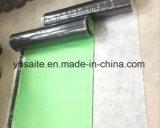 HDPE dwars-Gelamineerde Waterdichte Membraan van het Bitumen van de Film Zelfklevende