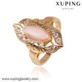 14674 Form-Schmucksache-elegante Finger-Ringe, zircon-Mehrfarbenringe der Frauen wahlweise freigestellte des Gold18k