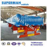 De China de maioria da carga do Sidewall reboque do caminhão Semi
