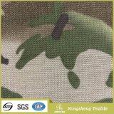 Tela revestida impermeable de la PU de Camo de la tela 1000d del camuflaje de la tela de nylon militar de Cordura