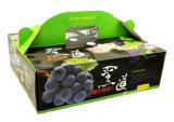 Cruce de cera caja de cartón corrugado para embalaje de frutas