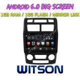 """Witson 9 """" Grote Androïde 6.0 Auto van het Scherm DVD voor KIA Sportage 2011-2013"""