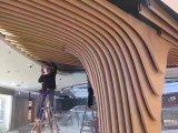 Forme en U du déflecteur de la conception de matériaux de construction de plafond bien l'aluminium