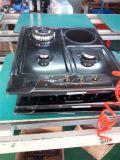 Cookware del gas dei 2017 nuovi prodotti costruito in fresa del gas con il supporto della vaschetta del ghisa
