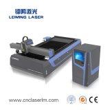 Máquina de estaca Lm3015m3 do laser do metal da fibra das placas e das tubulações