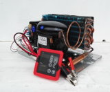 De Condenserende Eenheden van de Compressor van Purswave Bd45hc voor de Maximum ZonneCompressor Bldcm van de Koelkast gelijkstroom 12V24V48V van de Diepvriezer van de Ijskast 450liters met Thermostate