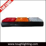 Indicatore luminoso della coda di inverso di girata di arresto di miscuglio dei baccelli LED di E-MARK 3 per i camion