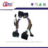 Carro de controlo do chicote de fios do fio da potência do compasso Using o conetor