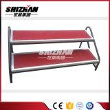 Pieza usada altura ajustable barata de aluminio de la etapa del precio de la escala de la etapa en venta