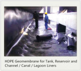 Trazador de líneas de Geomembrane del HDPE para las presas