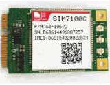 새로운 Simcom 4G Lte 무선 커뮤니케이션 모듈 SIM7100c 소형 Pcie
