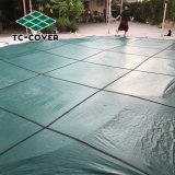 Logotipo personalizado de seguridad de malla verde hoja limpia la piscina cubierta para piscinas interiores