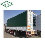 Couvercle de camions de taille personnalisée d'alimentation PE Couvercle capot par conteneur de la bâche de protection