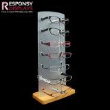 Estilo Personalizado o dispositivo de armazenamento de equipamento de madeira Rack de exibição para óculos de acrílico