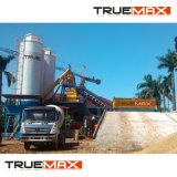 La carretera y la construcción de 25m3 mojado parado automático de hormigón preparado planta de procesamiento por lotes