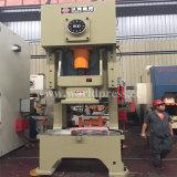 125t hidráulico; Sacador que corta la máquina plateada de metal Jh21 de la prensa de potencia