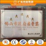 Fiable de la fábrica China de aluminio color madera/aluminio/aluminio gire a la inclinación de la ventana