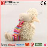 Cute caresser les animaux en peluche un jouet en peluche agneau souple pour les enfants/enfants