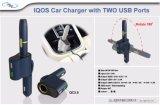 Два порта Iqos Car-Mounted зарядное устройство для курения сигар автомобильное зарядное устройство с электронным управлением с КК 3.0 USB