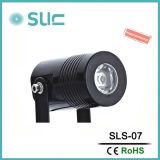 Foco LED de aluminio negro nuevo de fábrica con precio competitivo
