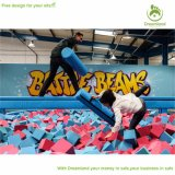 Free Jumping Practice Zone Extreme Trampoline Park with Foam Pit