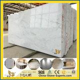 Het goedkope Nieuwe Opgepoetste Witte Marmer van China van de Steen Castro voor Gebouwd/Keuken/Badkamers/Levering voor doorverkoop
