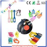 Tag feito sob encomenda da bagagem dos desenhos animados das vendas quentes para o presente da promoção