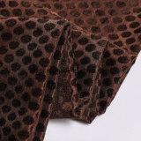 Tela tejida poliester 2018 de la materia textil del telar jacquar hecha en China