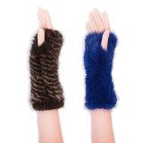 Дети черный мех покровом покрыть с помощью ручного подогреватель детского питания/дамы кожаные перчатки во время движения