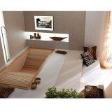 белизна TV ванной комнаты гостиницы Android системы 15.6inch франтовская водоустойчивая