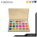Sombra de ojo caliente del polvo del brillo de la gama de colores del sombreador de ojos de la venta 24colors