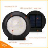 indicatori luminosi solari di alluminio del sensore di movimento del radar di 260lumen 16LED per il giardino